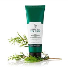 The Body Shop Tea Tree Wash Scrub Mask is a product which can be used as a wash, a scrub or a mask to combat blemishes and excess oil. The Body Shop, Body Shop Tea Tree, Body Shop At Home, Organic Tea Tree Oil, Tea Tree Oil For Acne, Melaleuca, Tree Faces, Beauty Soap, Skin Care Remedies
