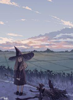 迷子の魔女 - 禅之助 - pixiv