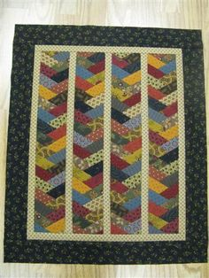Braid Mini Quilt from Mary at Quilt Hollow Braid Quilt, Miniature Quilts, Doll Quilt, Mini Quilts, Quilt Patterns, Craft Projects, Applique, Patches, Scrap