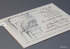 Paul Antonio Scribe- Illustrated invitation!