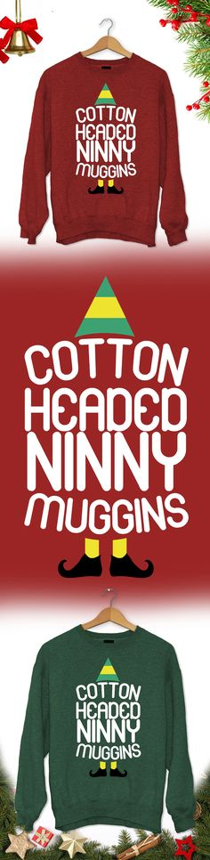 Christmas Gift Ninny Muggins - Limited edition. Order 2 or more for friends/family & save on shipping! Makes a great gift!