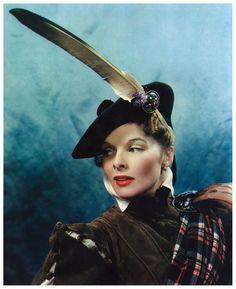 Katharine Hepburn as Mary, Queen of Scots (James Doolittle, c. 1935)