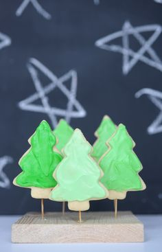 sugar cookie tree forest