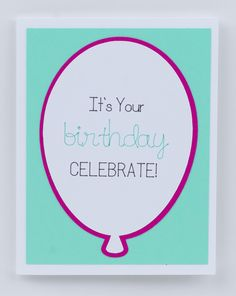It's Your Birthday Celebrate Fuschia & Turquoise