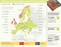 Turismo y comercio ganan sin visa Schengen