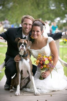 Me, alex, and Dex on the big day. #wedding, #wedding ideas, #boxers