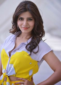 Samantha+hot+navel+smiley+look+face+sexy+glamours+actress