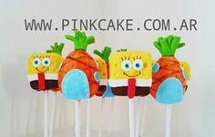 Cake Pops Bob Esponja