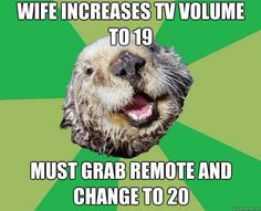 Actually, 95% of people are uncomfortable when the volume setting is on an odd number.