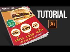 Illustrator Flyer Tutorial For Beginners - YouTube