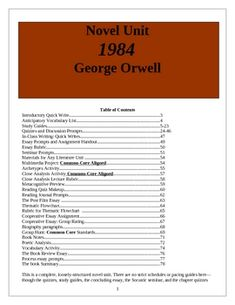 What is the main theme in 1984 by George Orwell?