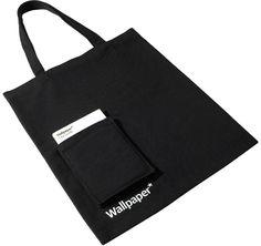 Canvas carrier bag with front pocket, 16oz custom dyed canvas