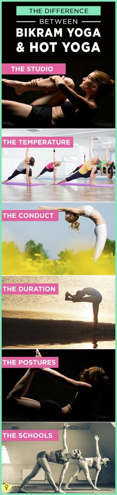 The other day, I chanced upon an article that spoke about Bikram Yoga for weight loss.