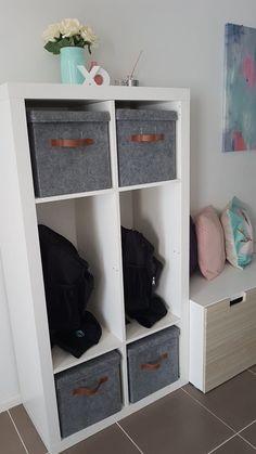 School Bag Storage Ideas Ikea 48 Best Ideas School Bag Storage Ideas Ikea 48 Be… – home office organization ideas School Bag Organization, School Bag Storage, Home Organisation, Backpack Organization, Organization Ideas, Playroom Organization, Ikea Hack Storage, Diy Storage, Storage Ideas