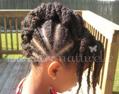 Twisted Frohawk | Natural Hair Care