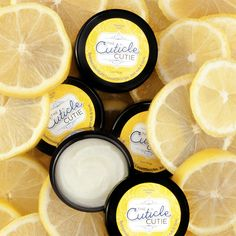 Cuticle Cutie Lemony Cuticle Butter | Perfectly Posh.  Beautiful cuticles? You nailed it, cutie! Apply, leave on overnight, and wake up with the most gorgeous nails. Zesty lemon nourishes nails and cuticles, beeswax protects, and butters and oils soften. Just rub & love. www.perfectlyposh.com/bphillips