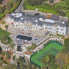 Beautiful Bel Air Mansion @entmillionaire