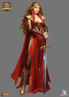 Kabam by Grafit-art Characters for Kingdoms of Camelot (Kabam Digital Art / Drawings & Paintings / Illustrations / Conceptual