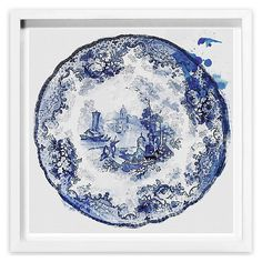 Oliver Gal, Vintage Plate II | Art for All | One Kings Lane $199+