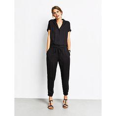 da0c22ebd7 Buy hush Short Sleeve Jumpsuit Online at johnlewis.com Hush Hush, Jumpsuits  For Women