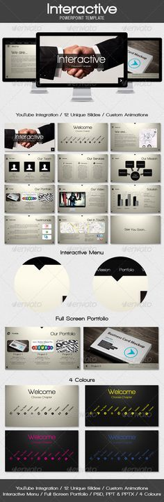 DaHye Lee (dahyelee5015) on Pinterest - interactive powerpoint template