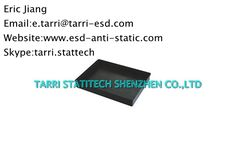 Dissipative PP Material ESD Plastic Tray , Anti Static tray For Electronics Components