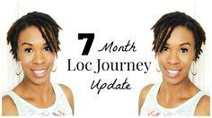 7 Month Loc Journey Update, Setbacks, Semi Free Forming & New Goals