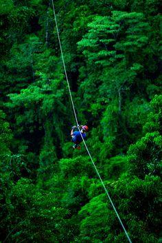Zip Lining In Costa Rica. #JetsetterCurator