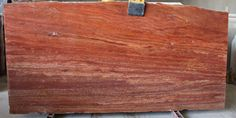Red Travertine Marble Slab