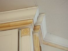 An important aspect in installing crown molding is the profile. Wood may be polished or painted while MDF and foam may also be manufactured to appear to be wood plus an identical finish can be accomplished. It made or can also be painted to appear to be veneer.
