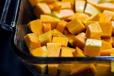 butternut squash sauce with great roasting instructions