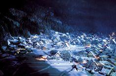 冬だからこそ楽しめる世界遺産「雪の白川郷」は夜がすごかった!http://www.bepal.net/trip/amazing-view/9638