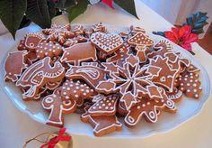 Měkké vánoční perníčky | Veganotic Vegan Desserts, Vegan Recipes, Vegan Meals, Gingerbread Cookies, Waffles, Eggs, Baking, Breakfast, Sweet