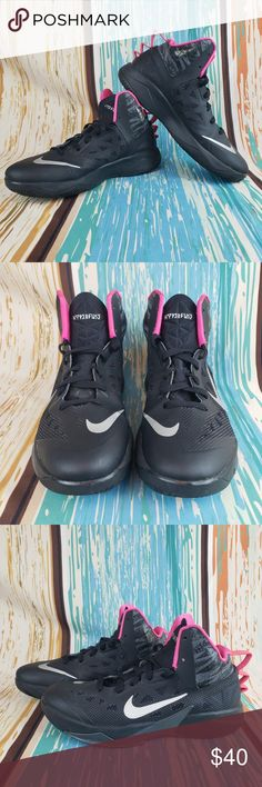 finest selection 2f447 dd663 Nike Zoom Hyperfuse Men s Size 8 Nike Zoom Hyperfuse Men s Size 8 615896-002  Black