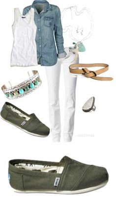 Street Style .. toms shoes
