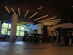 Animations Néon Salle de jeux Animation, Rhone, Fabricant, Basketball Court, Bowling Ball, Custom Pc, Game Room, Dance Floors, Animation Movies
