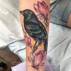 Chelsea Shoneck It's a bird! Thank you so much Emma! #unkindnessart @unkindnessart #tattoosnob