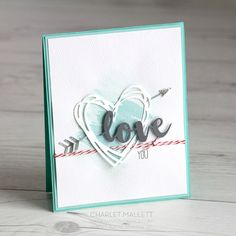 Sunshine Sayings Love You cards - Stamp Review Crew — Painted Orange