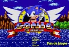 Juego Sonic flahs Gratis