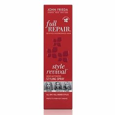 John Frieda Full Repair Style Revival Heat-Activated Styling Spray