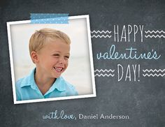 Cute childrens Valentine's day cards - Perfect for child's classroom Valentine exchange! - Customize it with your child's name and photo!