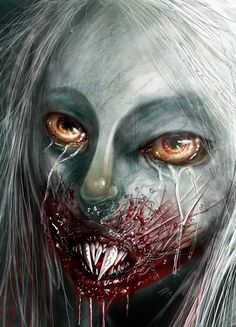 It's a Vampire!!! (cover art sneak peak) by The Mico #vampire #horror #comics #fantasy #action #blood ; published on www.komicbrew.com