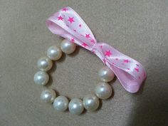 DIY Tutorial : DIY Pearl Bracelet So Cute