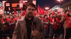 video sobre huelga de trabajadores en españa