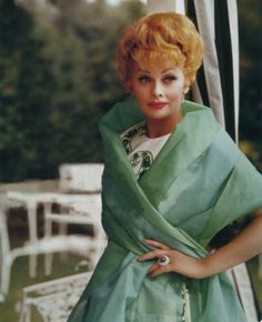 Lucille Ball, looking fabulous & elegant.  Lucy was always such a beautiful lady.