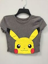 Size Small Mighty Fine Pikachu Crop Top