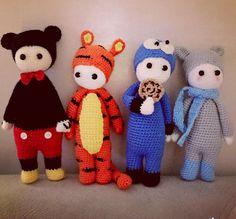 lalylala mods made by Ayse A. / based on lalylala crochet patterns
