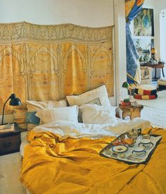 The World of Interiors..... Bedrooms