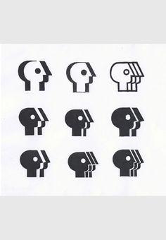 // Tom Geismar — alternate study sketches for PBS