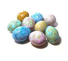 Spring Easter Egg Gourds 9 Easter Basket Bowl by midnightcoiler
